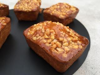Petits cakes Caramel de Christophe Adam
