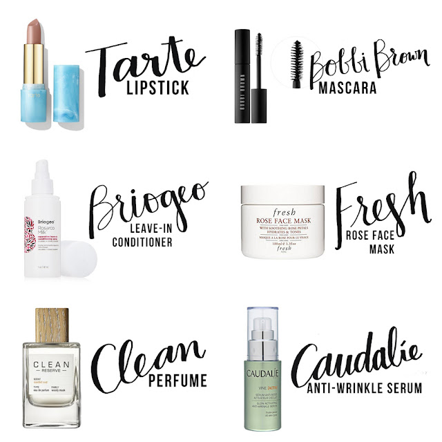 Sephora Makeup, Discount Makeup, Makeup Subscription Box Review, Tarte Lipstick, Beauty Blogger, College Blogger, Lifestyle Blogger, Bobbi Brown Mascara, Briogeo Leave-In Conditioner, Fresh Rose Face Mask, Clean Perfume, Caudalie Anti-Wrinkle Serum