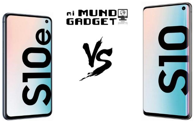 Comparativa: Samsung Galaxy S10e vs Galaxy S10