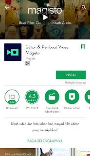Magisto adalah aplikasi mengedit vidio yang gratis dan juga keren