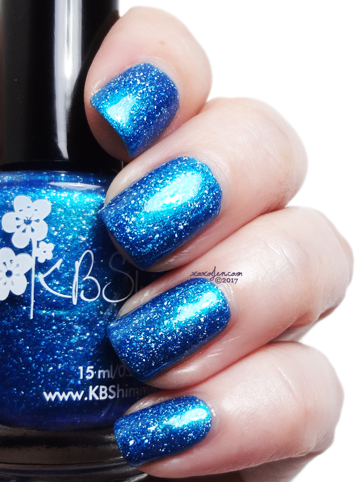 xoxoJen's swatch of KBShimmer Better Lake Than Never