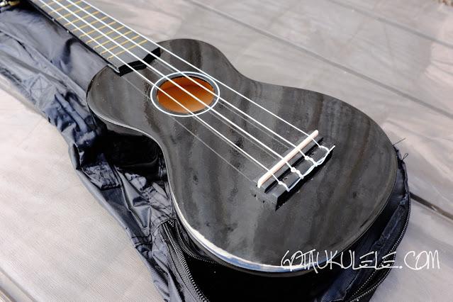 Hamano U30 Soprano Ukulele body
