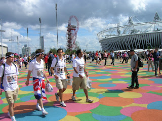 London 2012 Olympics - Olympic Park Floor