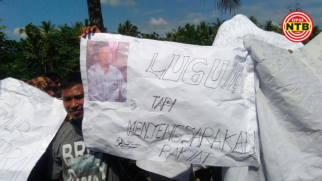 Demo Jilid 2, Kades Denggen Timur Dituntut Mundur oleh Warganya