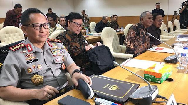Jendral Polisi Jadi Plt Gubernur, Tjahjo Kumolo Akui Usulan Polri