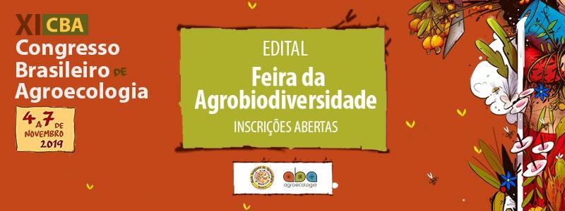 Feira da Agrobiodiversidade XI CBA