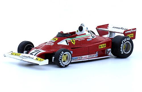 Ferrari 312 T2 1977 Gilles Villeneuve f1 the car collection