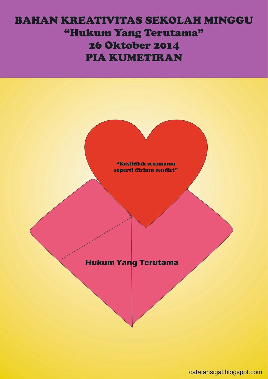 Cerita Sekolah Minggu Tentang Kasih : cerita, sekolah, minggu, tentang, kasih, Catatan, SiGal:, Bahan, Kreativitas, Sekolah, Minggu,