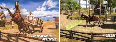 Kuda Troli Balap Simulasi 3D
