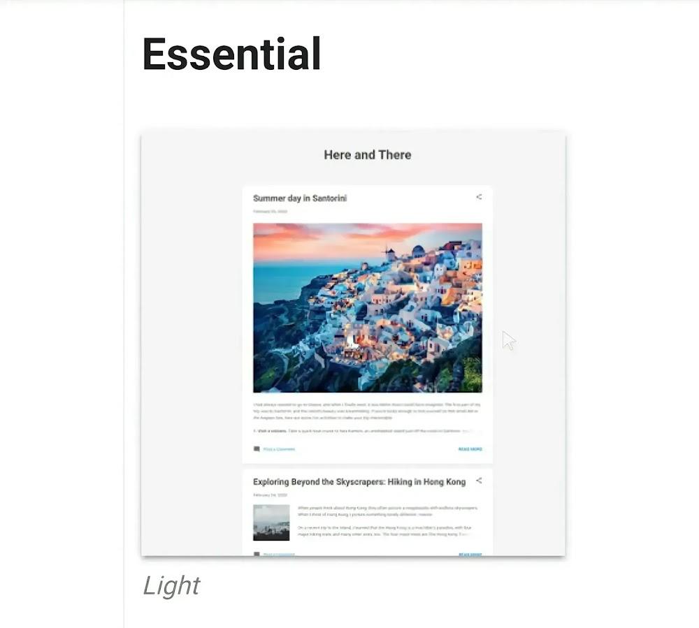 Cara memasang breadcrumb valid HTML ke template Essential blogger