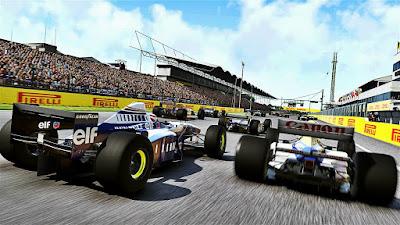 Formula 1 race games