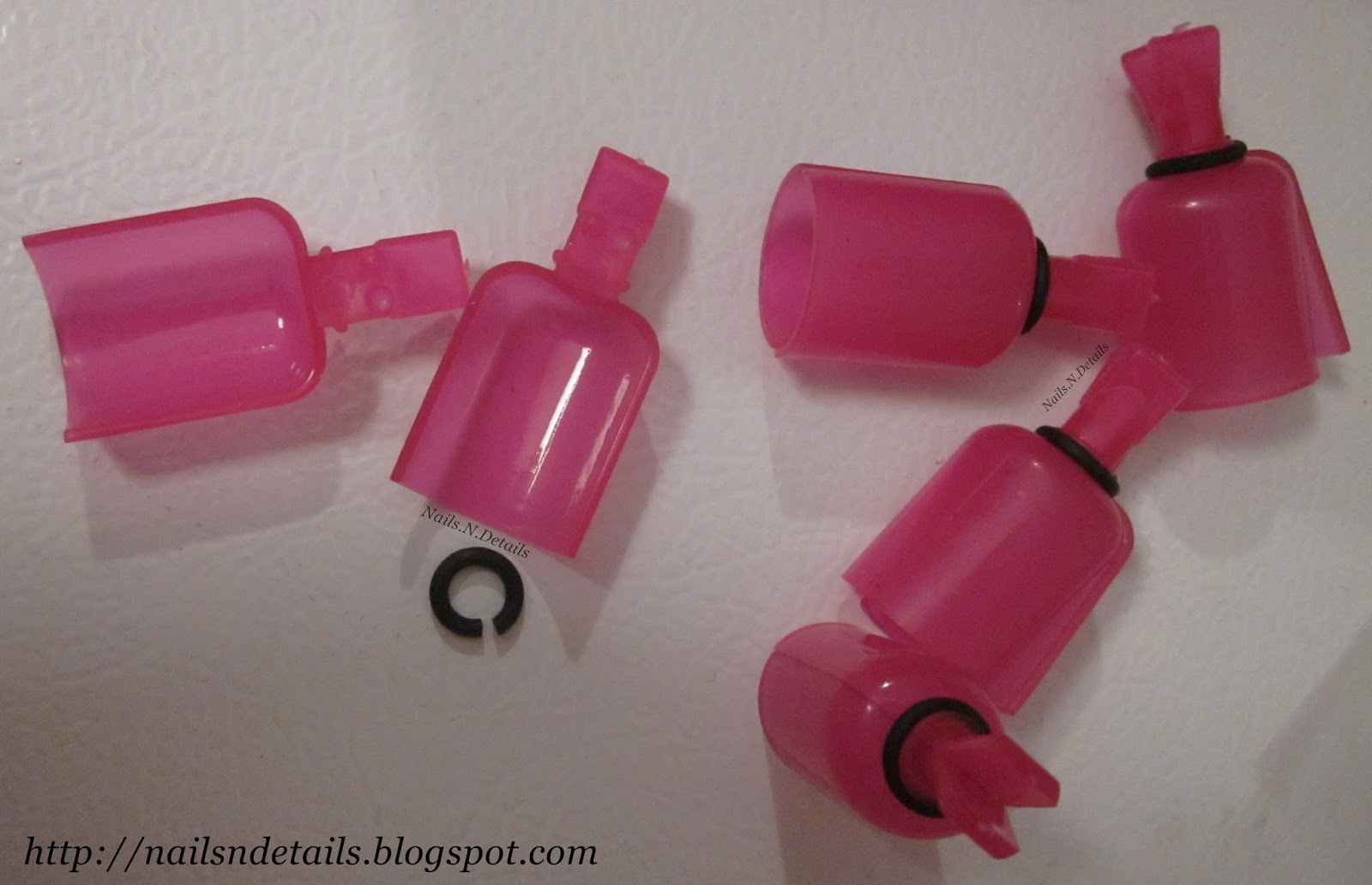 Nails N Details Nail Polish Removal Gel Off Clips