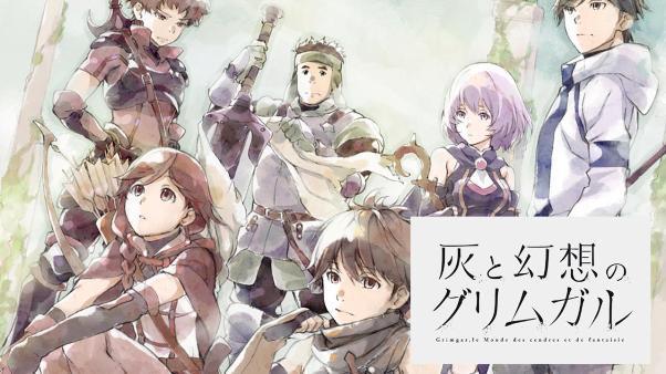 Grimgar: Ashes and Illusions (Hai to Gensou no Grimgar) - Top Anime Like Konosuba (Kono Subarashii Sekai Ni Shukufuku Wo)