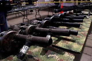 Misión de la ONU terminó el registro de armas de las Farc