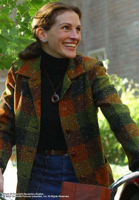 O sorriso de monalisa casaco