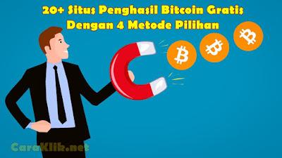 22 Situs Legit Penghasil Bitcoin Gratis Dengan 4 Metode Pilihan
