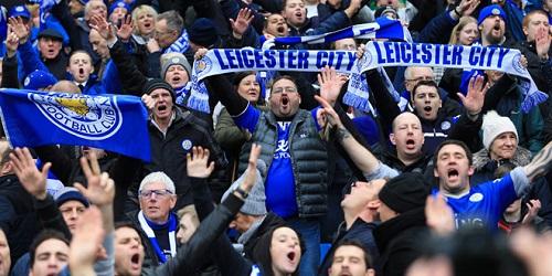 Fan hâm mộ Leicester City chờ ngày CLB  đăng quang