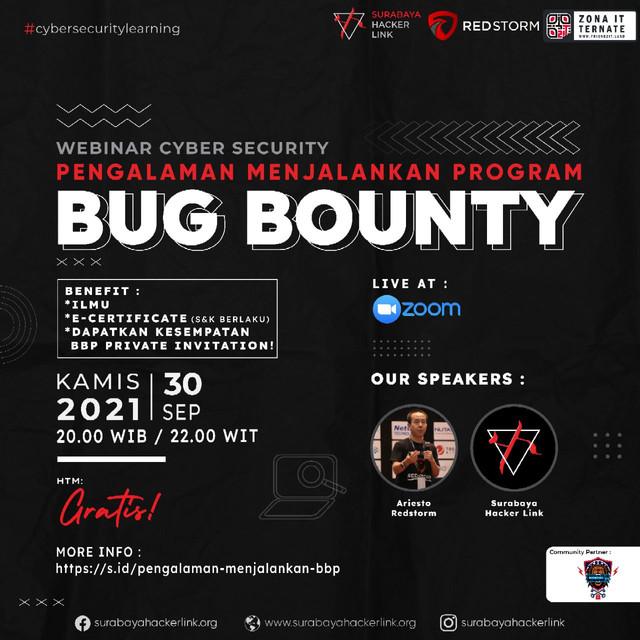 Webinar: Pengalaman Menjalankan Program Bug Bounty