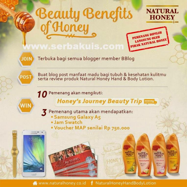 Kontes Blog Natural Honey Hadiah SAMSUNG Galaxy A5