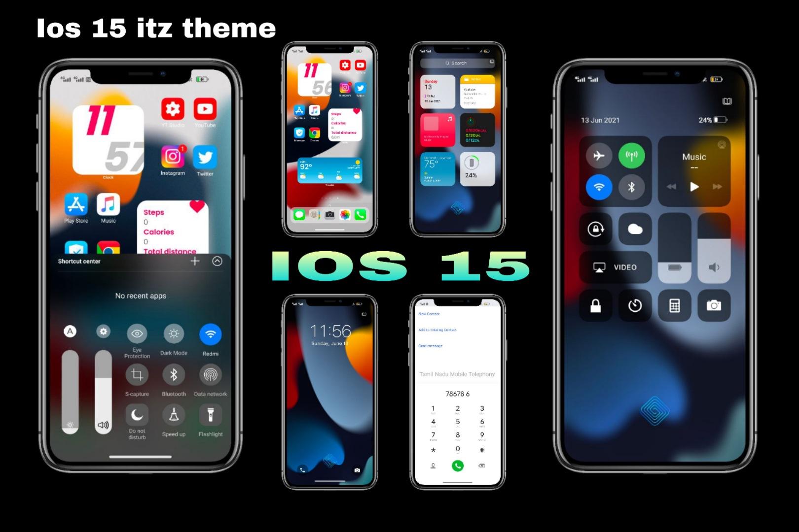 IOS 15 theme For Vivo / Feel UI [IOS 15 itz theme]