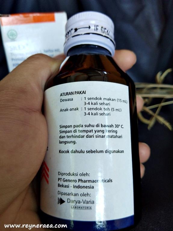 Silex merupakan obat batuk herbal yang aman untuk ibu hamil dan menyusui