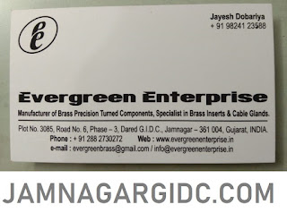 EVERGREEN ENTERPRISE - 9824123588 JAMNAGARGIDC.COM BRASS