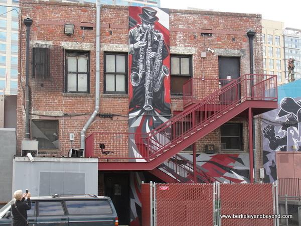 jazz mural in San Jose, California
