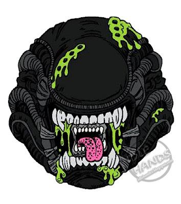 kidrobot Madballs Horrorballs Alien Xenomorph