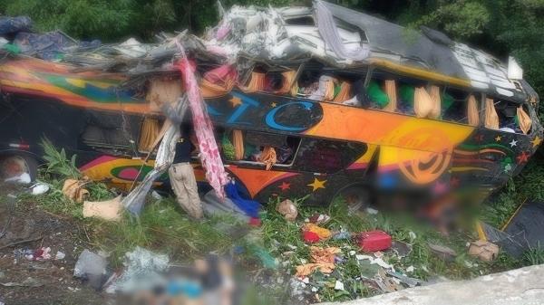 Confira a lista ANTT com nome dos 53 passageiros do ônibus do PA que tombou no Paraná