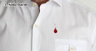 Tips Membersihkan Noda Darah Di Pakaian