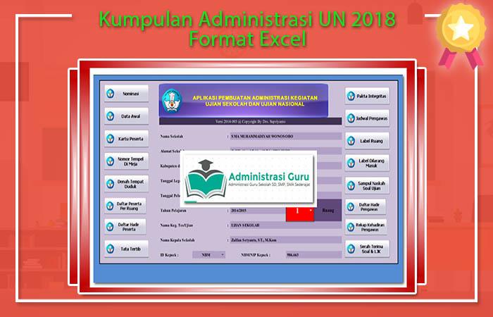 Kumpulan Administrasi UN 2018