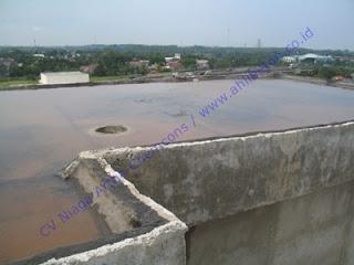 waterproofing pada dak beton