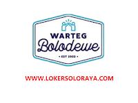 Loker Solo Kasir dan Cleaning Service di Warteg Bolodewe & Bolo Kopi
