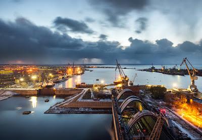 Inilah Salah Satu Pabrik Kapal Terbesar di Dunia