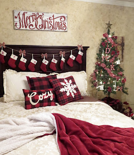 Christmas Bedroom decorations
