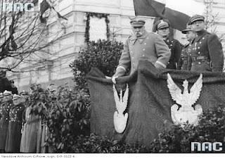 Józef Piłsudski i Adam Sokołowski - Wilno 1933