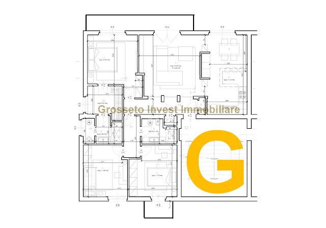5-vani-zona-via-Giotto-Grosseto appartamento ristrutturato Grosseto bella zona posizione Giotto parco
