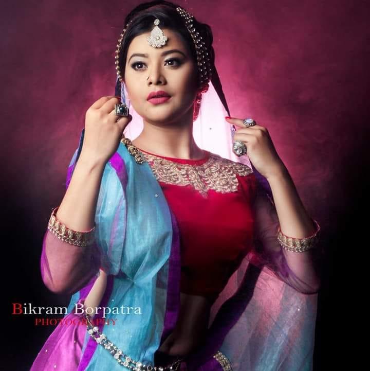 Lonishri Das cute photo new | assamese actress photography