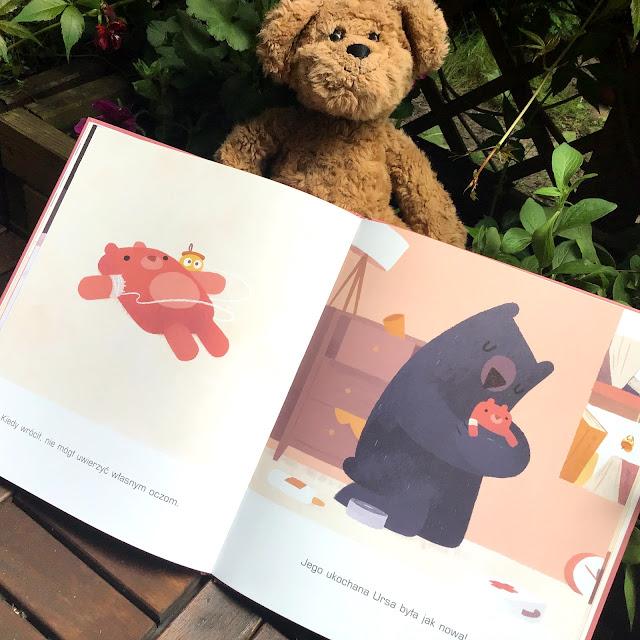 """""""Miś ma stracha"""" Jacob Grant, Lokator, książka obrazkowa dla przedszkolaków"""