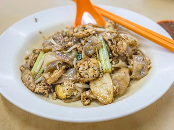 Yoyo Seafood Zhu Cha @ Yoyo Huat Kafe, Sungai Ara, Bayan Lepas, Penang