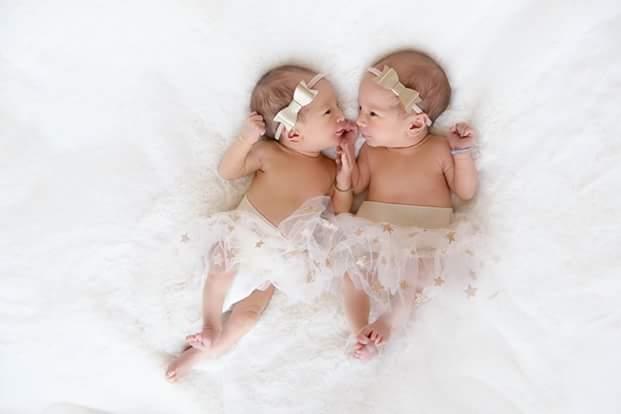Limbless Australian Christian evangelist, Nick Vujicic shares adorable photos of his twins
