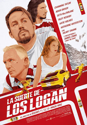 Logan Lucky 2017 DVD R1 NTSC Latino
