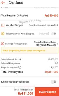 Cara beli akun FF sultan di shopee online