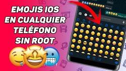 EMOJIS ESTILO IPHONE EN CUALQUIER TELÉFONO CON ANDROID 2020