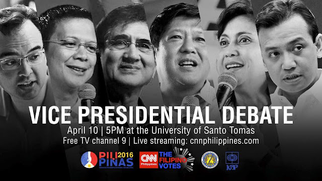 [LIVE STREAMING] Vice Presidential Debate 2016 at UST