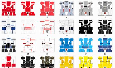Kumpulan kit jersey PUMA DLS