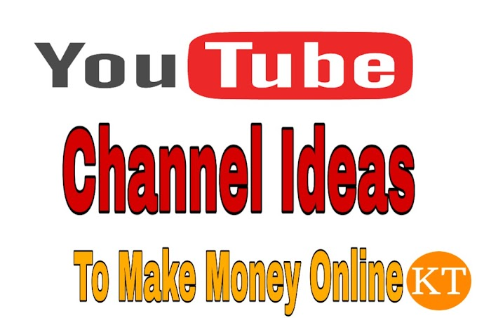 10 Best Ideas for Youtube Channel II YouTube Channel Ideas to Make Money Online.