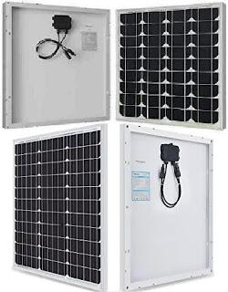 Renogy Solar Panels: Fifty Watts (50W/12Volts) Monocrystalline Energy Boards