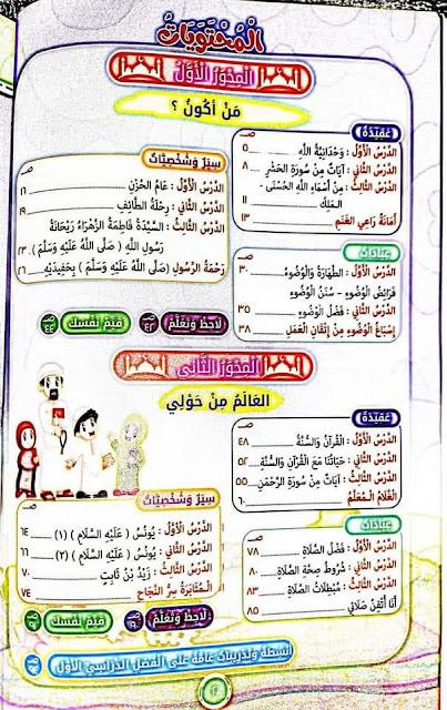 اخيرا التربية الإسلامية الصف الثالث الابتدائي المنهج الجديد الترم الأول كتاب قطر الندى