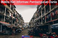 makna hari informasi pembangunan dunia internasional nasional indonesia sedunia